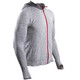 Compressport 3D Thermo Seamless Hoodie Unisex Grey